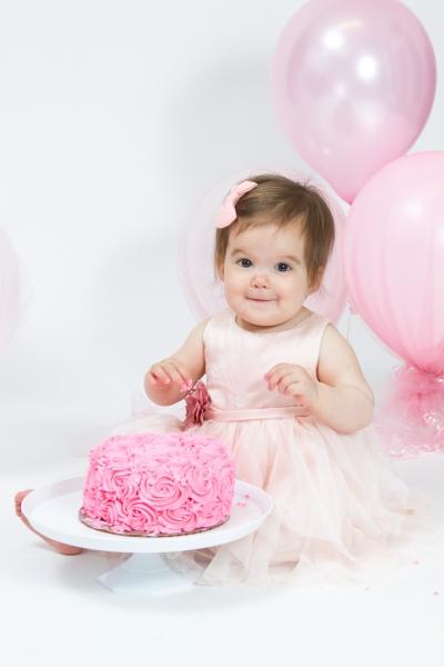 Toledo Baby Photographer Cake Smash