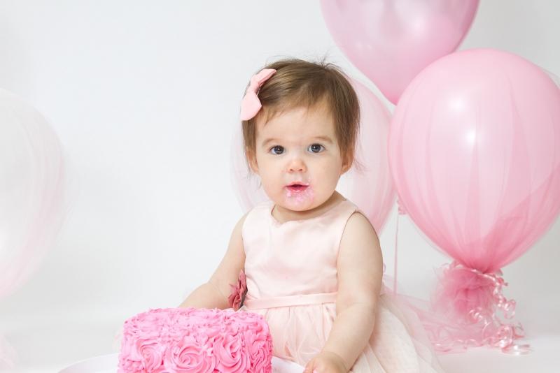 Maumee Baby Photographer Cake Smash