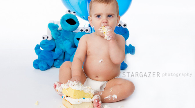 Baby Photography – Cake Smash – Titus