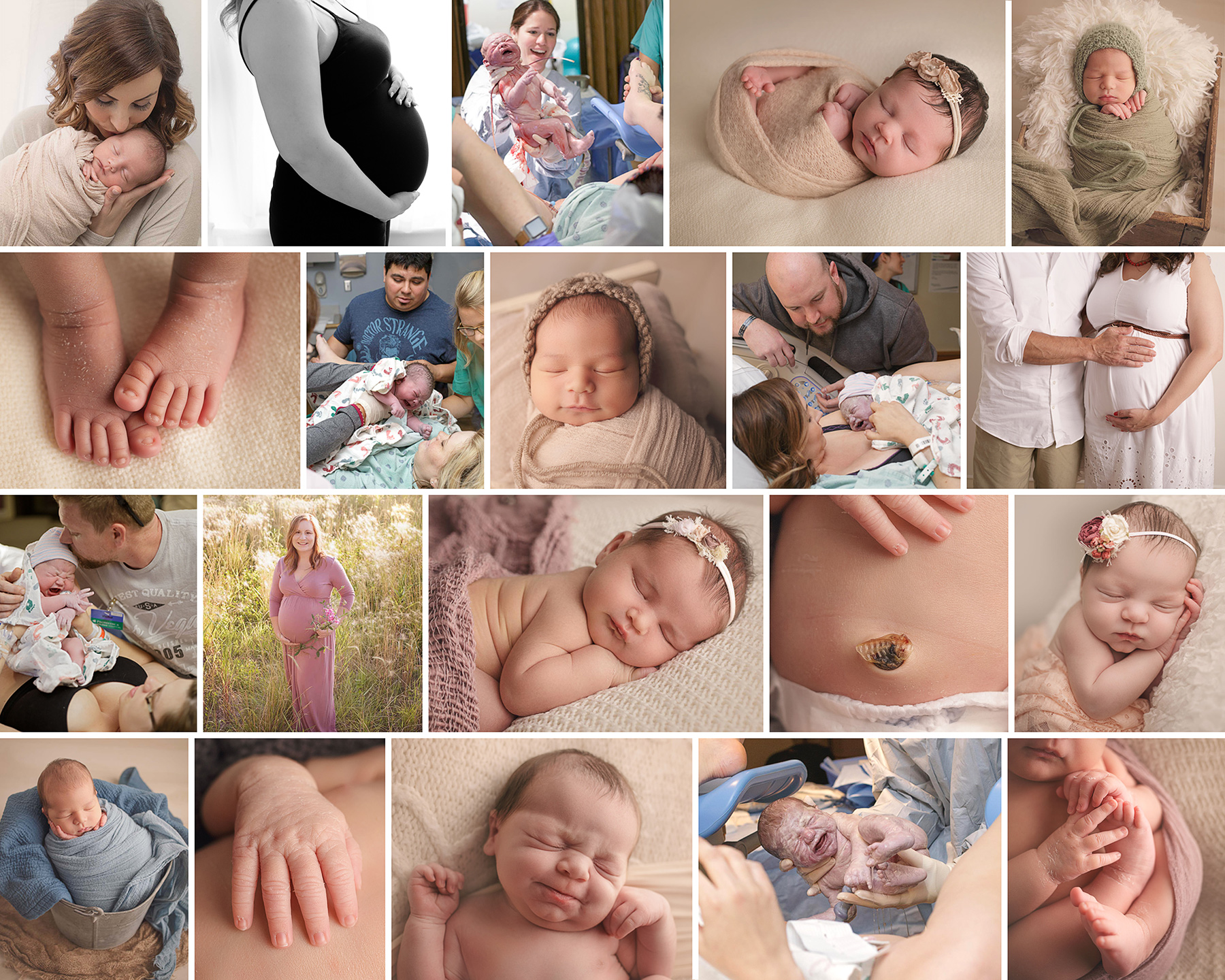 Toledo Birth and Newborn Photographer