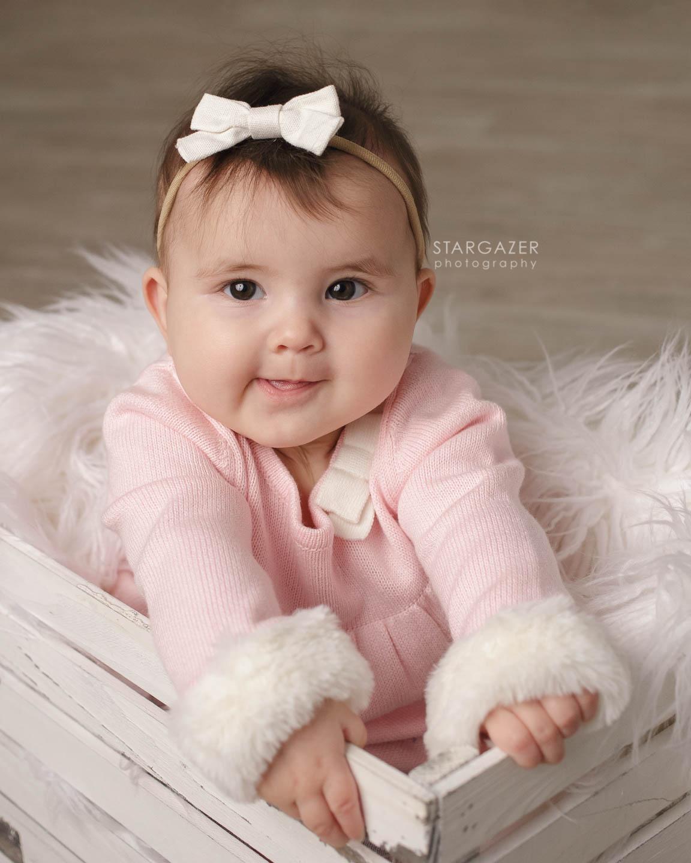 Toledo Baby Milestone Photography