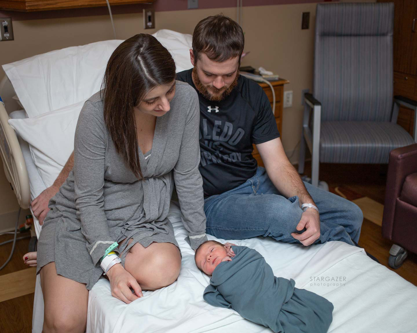 Toledo Newborn Hospital Photographer